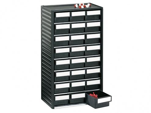 TRESTON - 554-4ESD - ESD Small parts storage cabinet 550 mm, 24 drawers, WL36938