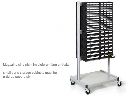 TRESTON - BT-550 ESD - ESD Trolley for 8 small parts storage cabinets, WL36959