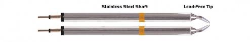 "THERMALTRONICS - K70TZ015 - Pinzetten-Paar 1,5mm (0,06""), meißelförmig, WL37609"