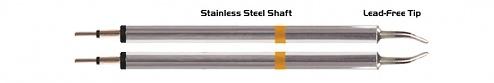 """THERMALTRONICS - K70TZ018 - Pinzetten-Paar große Reichweite 1,78mm (0,07""""), meißelförmig, WL37610"""