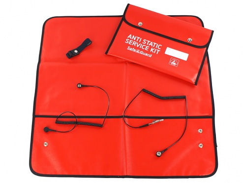 SafeGuard - ANTI STATIC SERVICE KIT, red, WL24956