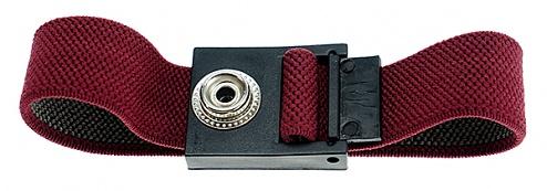 SAFEGUARD - 30-560-0010 - ESD wristband, press stud = 10 mm / red, WL24073
