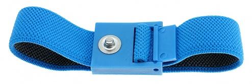 SAFEGUARD - SAFEGUARD ESD - ESD wristband, 3 mm press stud, 220 mm / light blue, WL42051