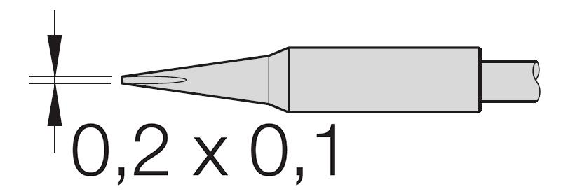 jbc - c105-116  desoldering tip for nano