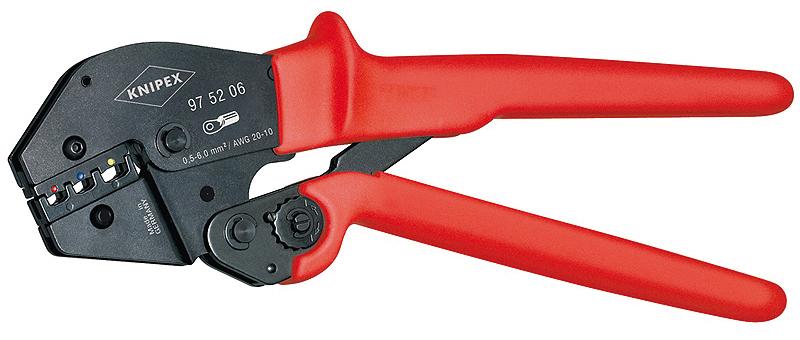 Ordentlich KNIPEX - 975206-250 - Crimpzange für Kabelschuhe KQ48