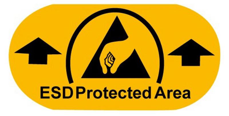 Warmbier 2822 1 Epa Floor Marking Adhesive Label Esd Epa