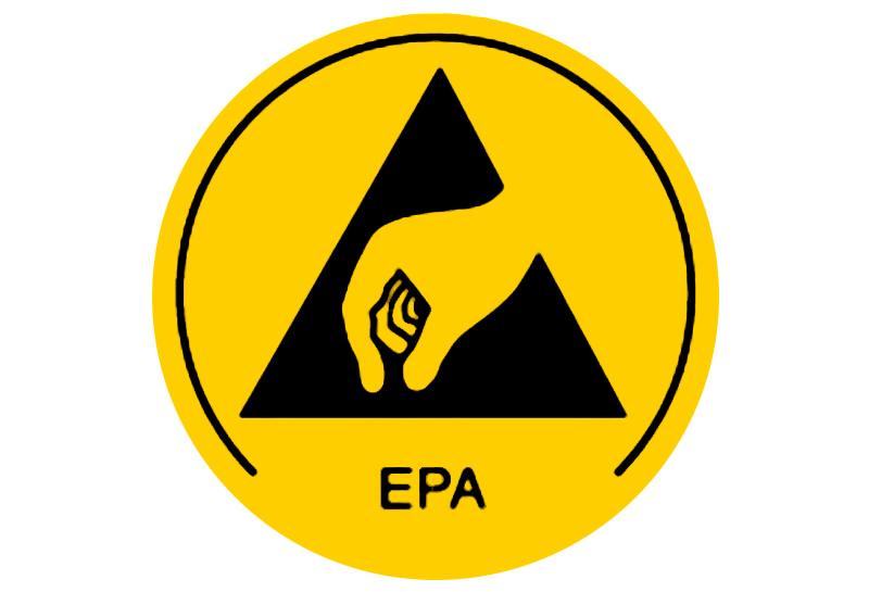 Warmbier 2850 10 Esd Warning Sign Epa Area