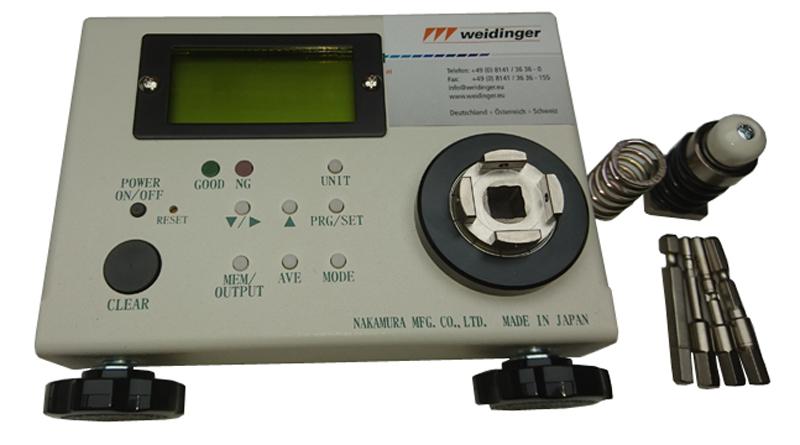 Weidinger cd100m torque measuring device for Measuring electric motor torque