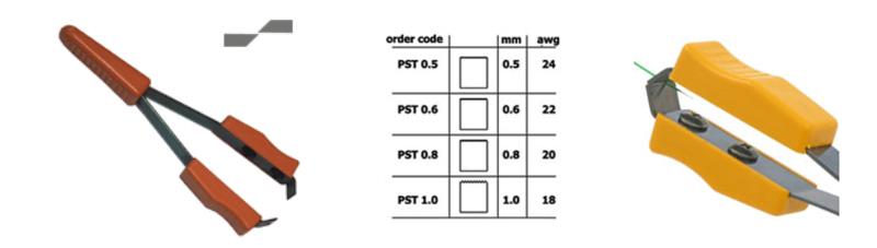 PIERGIACOMI - PST 0.5 - Lackabkratzwerkzeug AWG 24