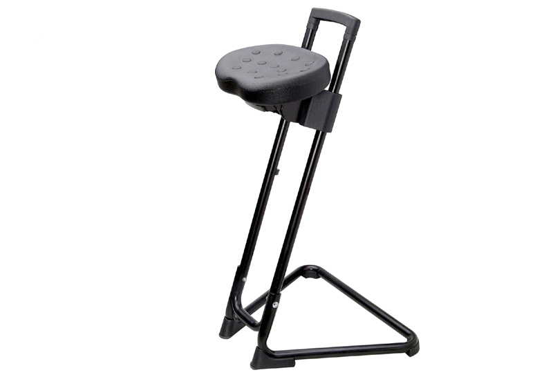Step Ladder Gs Manufacturers Mail: ESD Sit-stand Stool, Black